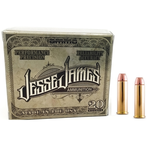 Ammo Inc Jesse James TML Label 357 Magnum Ammo 158 Grain Jacketed Hollow Point