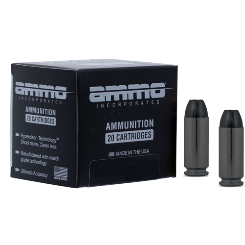 Ammo Inc Black Label 10mm Auto Ammo 180 Grain Hollow Point
