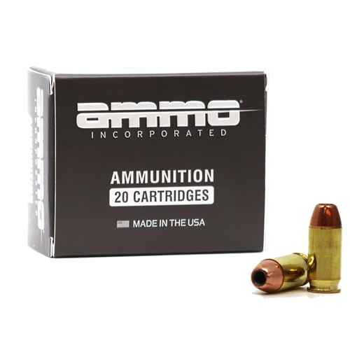 Ammo Inc American Hunter 45 ACP Auto Ammo 230 Grain Jacketed Hollow Point