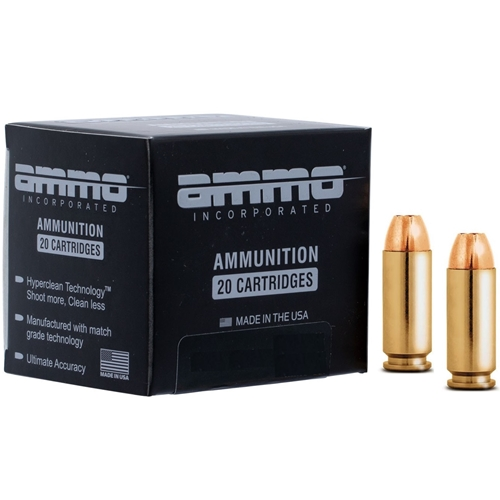 Ammo Inc 10mm Auto Ammo 180 Grain Jacketed Hollow Point Signature Line