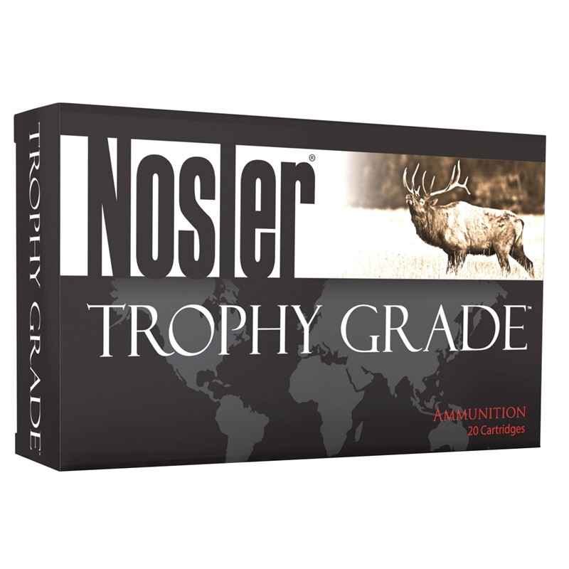 Nosler Trophy Grade 300 Remington Ultra Magnum Ammo 180 Grain AccuBond
