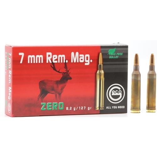 Geco Zero 7mm Remington Magnum Ammo 127 Grain Lead Free