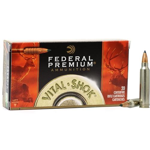 Federal Premium Vital Shock 300 Winchester Magnum Ammo 180 Grain Trophy Copper