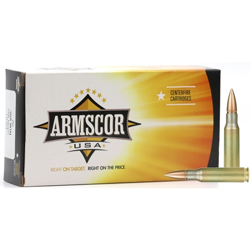 Armscor USA 308 Winchester Ammo 168 Grain Hollow Point Boat Tail