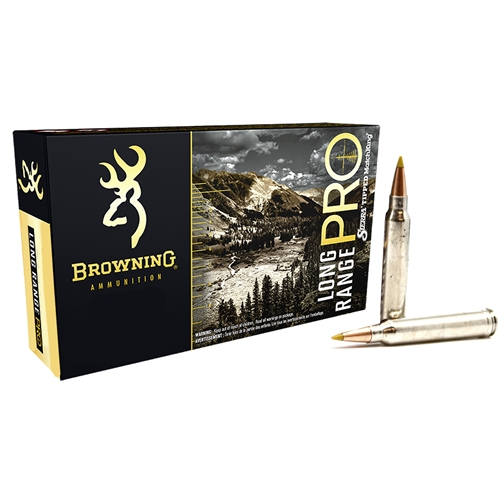 Browning Long Range Pro 300 Winchester Magnum Ammo 195 Grain Sierra MatchKing BTPT