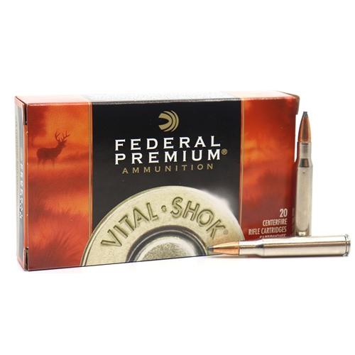 Federal Premium Vital-Shok 30-06 Springfield Ammo 150 Grain Sierra GameKing Spire Point Boat Tail