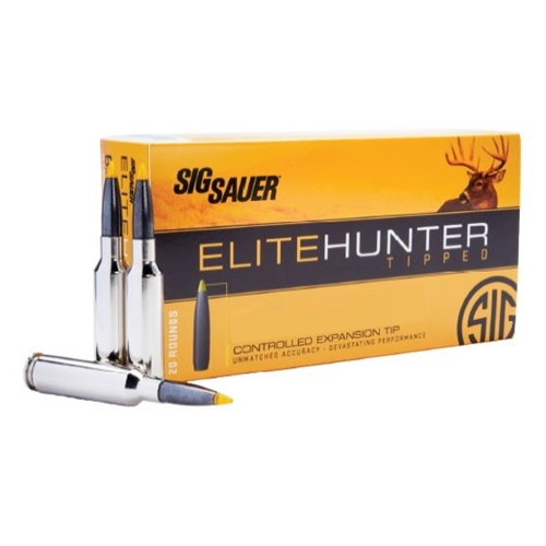 Sig Sauer Elite Hunter 260 Remington Ammo 130 Grain Tipped Gameking