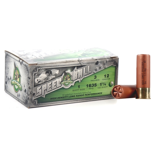 "Hevi-Shot Speedball Waterfowl 12 Gauge Ammo 3"" 1-1/4 oz #1 Non-Toxic Shot"