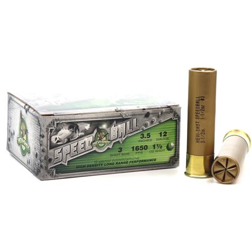 "Hevishot SpeedBall 12 Gauge Ammo 3-1/2"" 1-1/2 oz #3 Non-Toxic Shot"