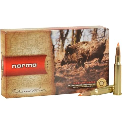 Norma TipStrike 7x57mm Rimmed Ammo 160 Grain Polymer Tip Flat Base