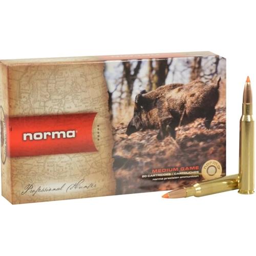 Norma TipStrike 7x64mm Brenneke Ammo 160 Grain Polymer Tip Flat Base