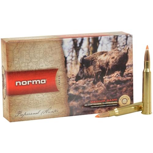 Norma TipStrike 7x65mm Rimmed Ammo 160 Grain Polymer Tip Flat Base