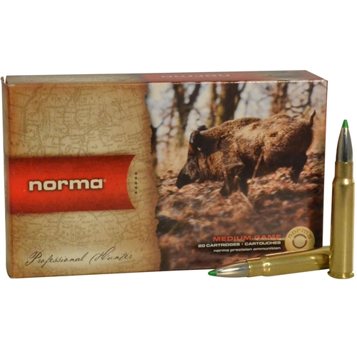 Norma American PH Ecostrike 8x57mm JRS Mauser Ammo 160 Grain Tipped Boat Tail Lead-Free