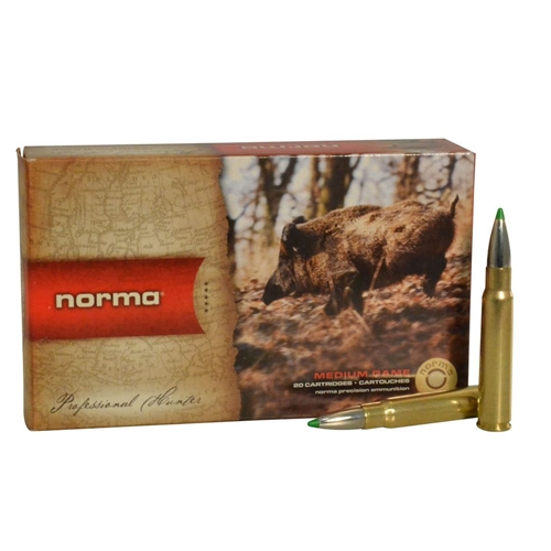 Norma American PH Ecostrike 8x57mm JS Mauser Ammo 160 Grain Tipped Boat Tail Lead-Free