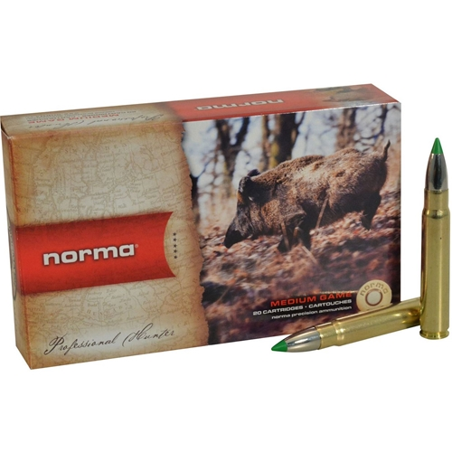 Norma American PH Ecostrike 9.3x62mm Mauser Ammo 230 Grain Tipped Boat Tail Lead-Free