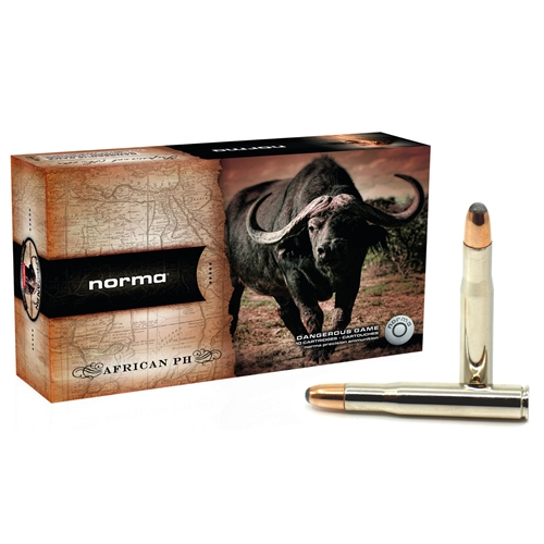 Norma African PH 404 Jeffery Ammo 450 Grain Woodleigh Weldcore Soft Nose