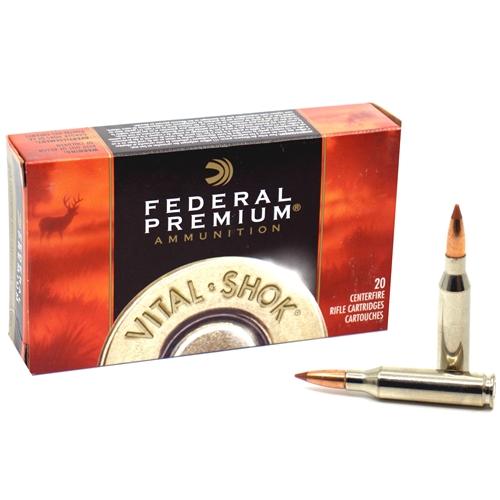 Federal Vital Shok 260 Remington Ammo 120 Grain Nosler Ballistic Tip