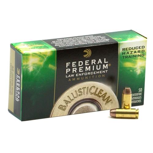 Federal Premium 10mm Auto Ammo 125 Grain BallistiClean RHT