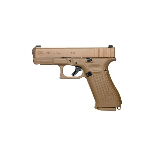 "Glock G19X 9mm Luger Semi-Auto 17 Rounds 4"" Marksman Barrel nPVD Finish"