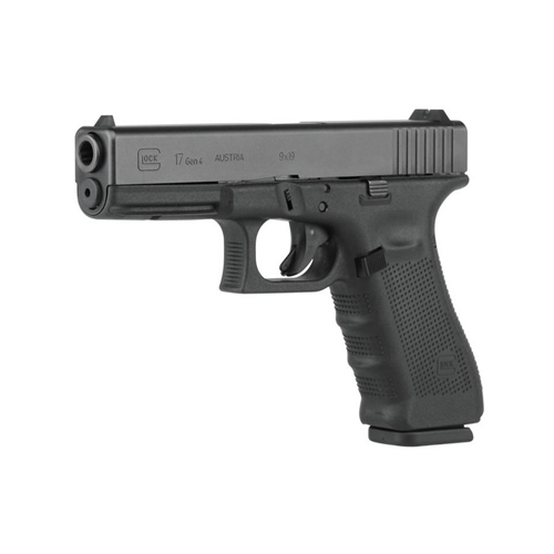 Glock G17 Gen4 9mm Luger Semi-Auto 17 Rounds Polymer Grip Black Finish
