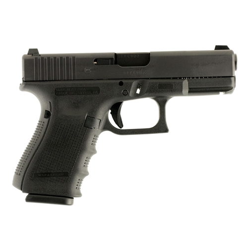 Glock G19 Gen4 9mm Luger Semi-Auto 10 Rounds Night Sights