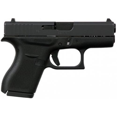 Glock G42 380 ACP Slimline Subcompact Handgun 6+1 Rounds Black