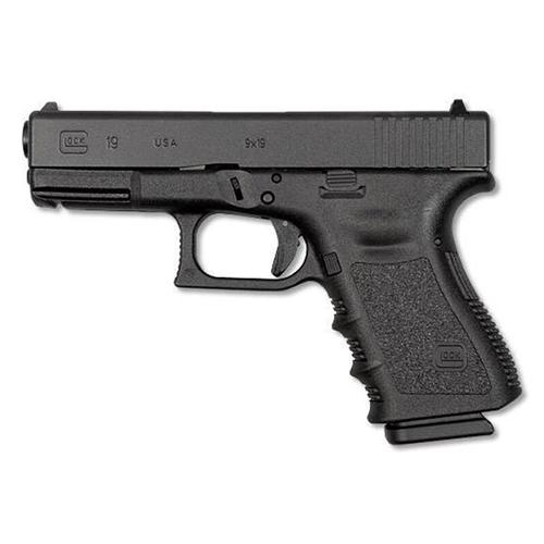 "Glock G19 Gen3 9mm Luger Semi-Auto 4.01"" Barrel 15 Rounds Black"