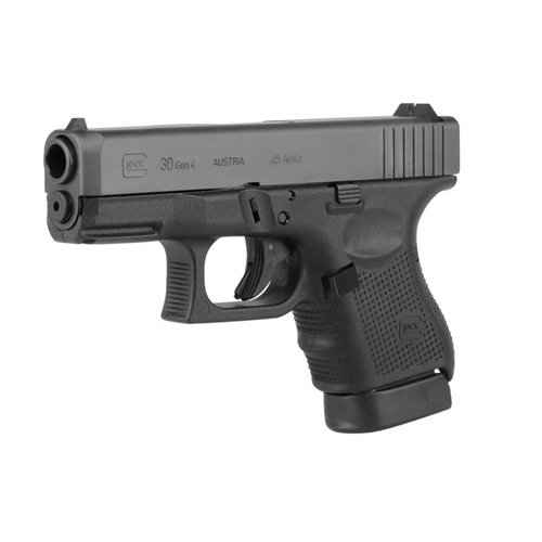 "Glock 30 Gen 4 45 ACP AUTO SubCompact Handgun 10 Rounds 3.77"" Barrel"