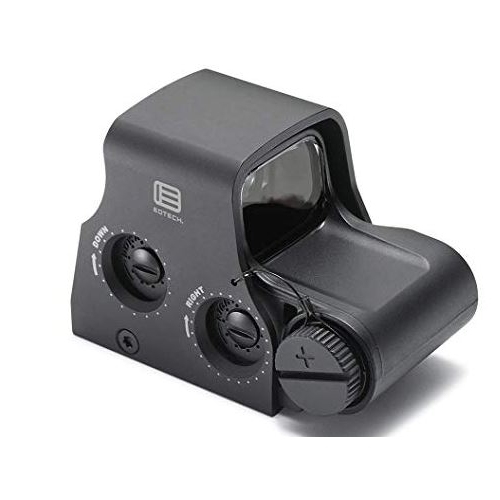EOTech XPS2-0 Holographic Weapon Sight 68 MOA Circle with 1 MOA Dot Reticle Matte