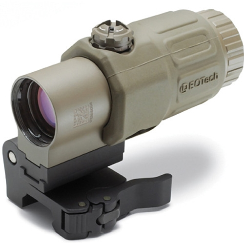 "EOTech G33.STS 3.25x Red Dot Magnifier with ""Switch to Side"" Picatinny Mount Desert Tan"