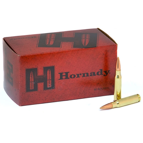Hornady Match 308 Winchester Ammo 168 Grain Hollow Point Boat Tail