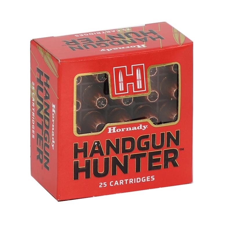 Hornady Handgun Hunter 9mm Luger Ammo +P 115 Grain MonoFlex