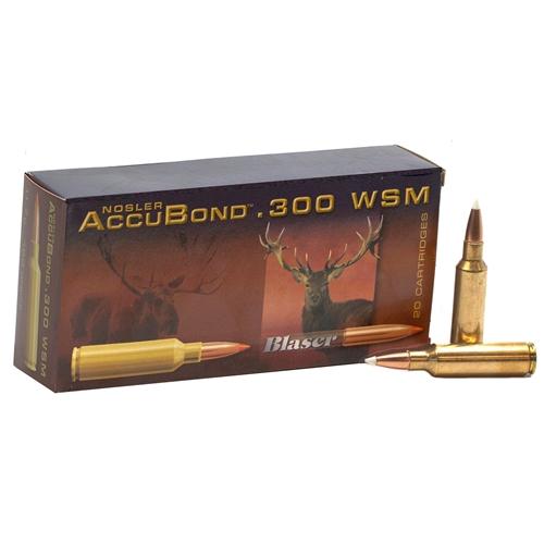 Norma Precision 300 Winchester Short Magnum Ammo 180 Grain Nosler AccuBond Ballistic Tip