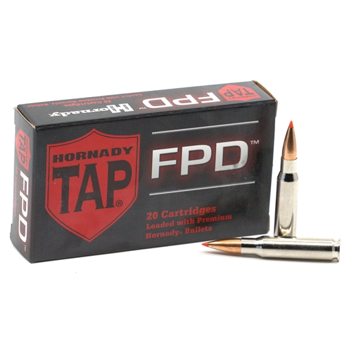Hornady TAP Personal Defense 308 Winchester Ammo 155 Grain Polymer Tip