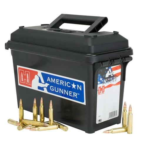 Hornady American Gunner 6.8mm Remington SPC Ammo 110 Grain HPBT Can of 200 Rounds