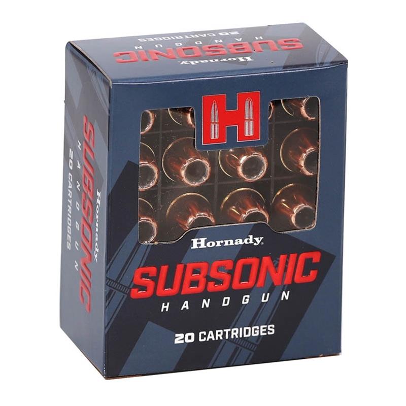 Hornady Subsonic 45 ACP Auto Ammo 230 Grain XTP