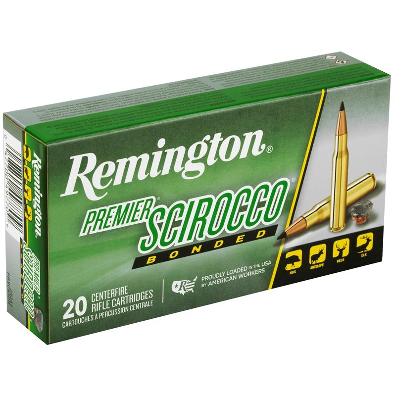 Remington Premier 6.5 Creedmoor Ammo 130 Grain Scirocco Bonded