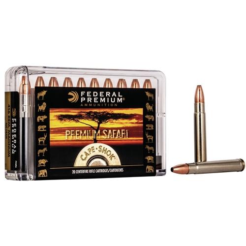 Federal Cape-Shok 416 Remington Magnum Ammo 400 Grain Swift A-Frame