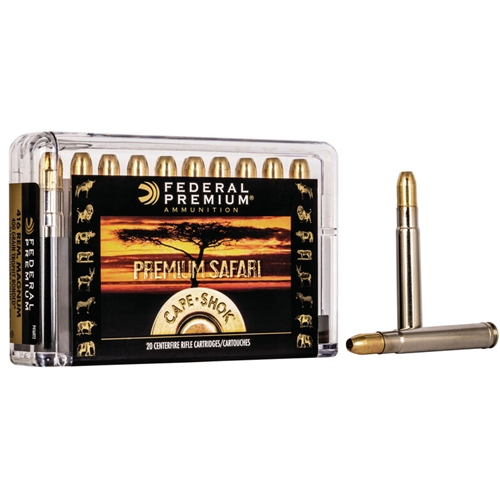 Federal Cape-Shok 416 Remington Magnum Ammo 400 Grain Trophy Bonded Sledgehammer Solid