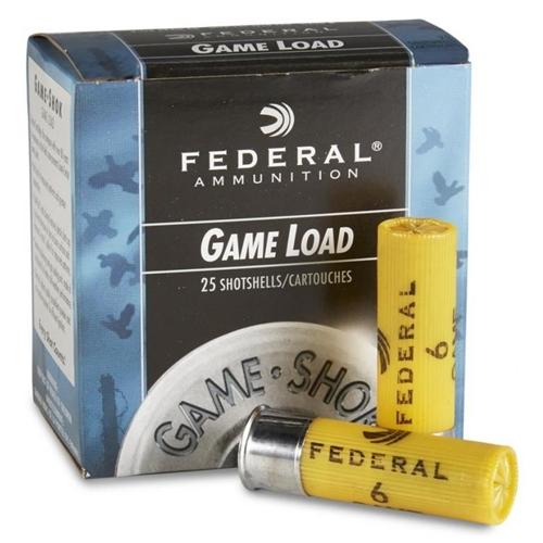 """Federal Game Load 20 Gauge Ammo 2 3/4"""" 7/8oz #8 Shot Target 250 Rounds"""