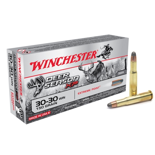 Winchester Deer Season 30-30 Winchester Ammo 150 Grain Extreme Point