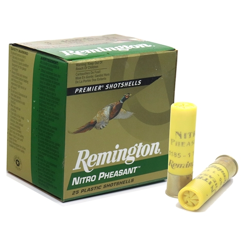 "Remington Premier Nitro Pheasant 20 Gauge Ammo 3"" 1-1/4 oz #5 Shot"