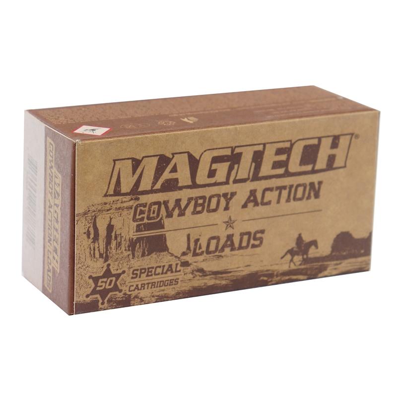 Magtech Cowboy Action 357 Magnum Ammo 158 Grain Lead Flat Nose