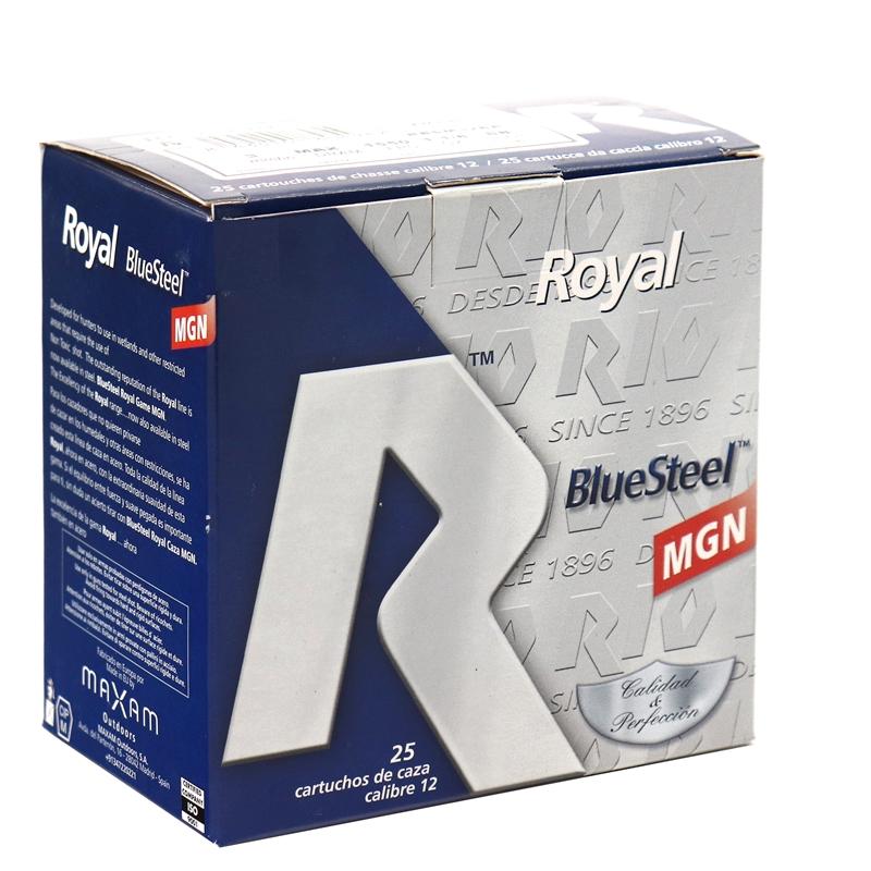 "RIO Royal BlueSteel Magnum 12 Gauge Ammo 3""  3"" 1-1/8oz BB Shot"