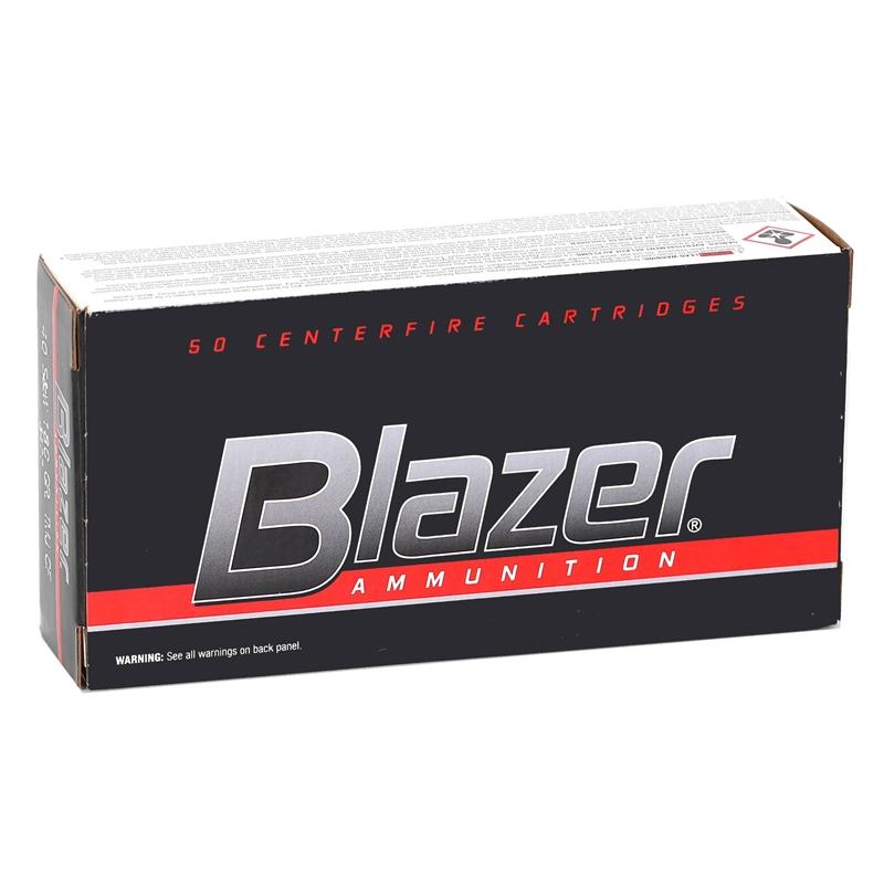 CCI Blazer CleanFire 40 S&W Ammo 180 Grain Total Metal Jacket