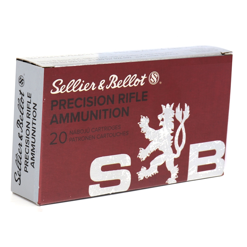 Sellier & Bellot PRA 308 Winchester Ammo 168 Grain Hollow Point Boat Tail