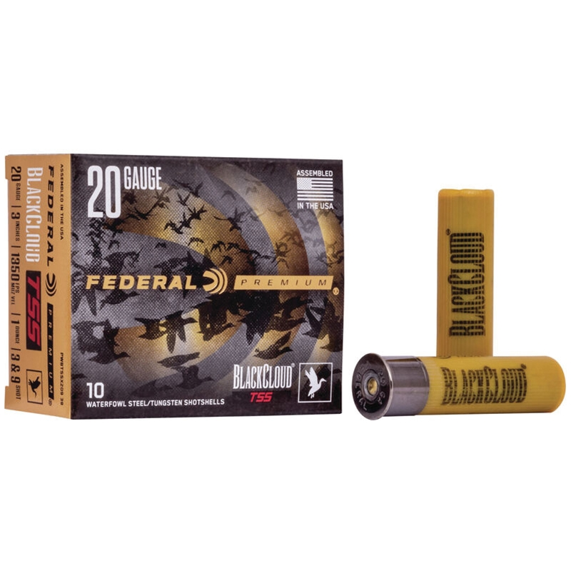 "Federal Black Cloud TSS 20 Gauge Ammo 3"" 1oz #3 & #9 Shot"