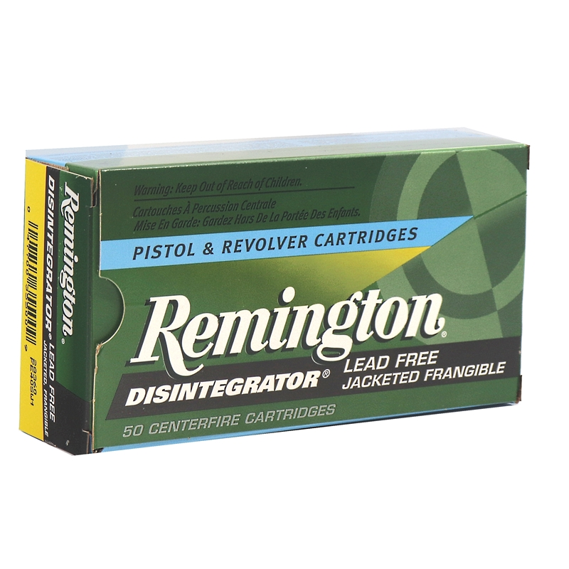 Remington Disintegrator 40 S&W Ammo 141 Grain Lead-Free Frangible
