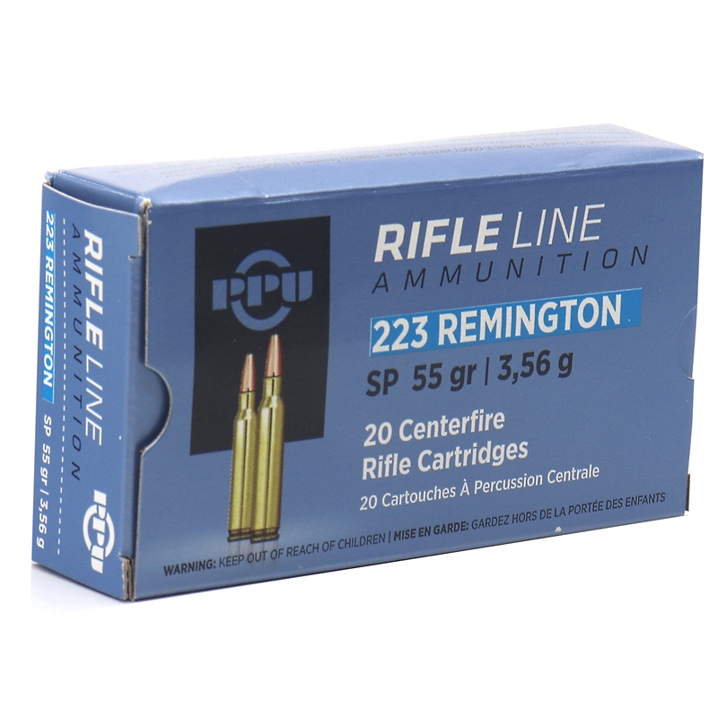 Prvi Partizan 223 Remington Ammo 55 Grain Soft Point