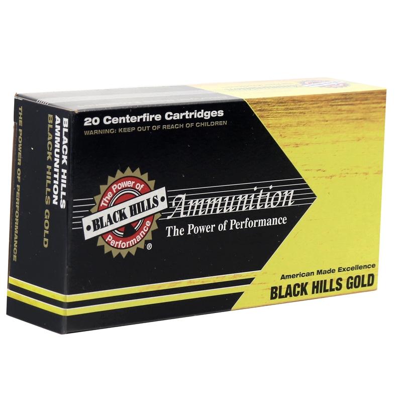 Black Hills Gold 6.5 Creedmoor Ammo 120 Grain GMX